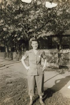 Rosie the Riveter: Women Working During World War II - The story of Helyn Potter - welder during the war.