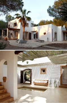 https://flic.kr/p/cMf3vm | a modern rustic home on formentera | featured on my blog the style files