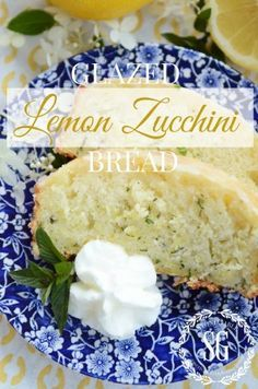 If you make one thing with a zucchini this summer GLAZED LEMON ZUCCHINI BREAD has to be it!!! stonegableblog.com
