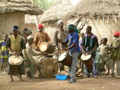 If all the politicians in the world learned Djembe, we could end war today.  -Mamade Keita