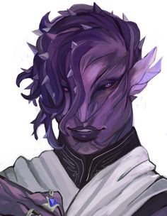 """ybeedraws: """"Commission for who was extremely welcoming to me getting into rp! and whos sylvari I do adore """" Fantasy Character Design, Character Design Inspiration, Character Concept, Anime Alien, Alien Art, Alien Character, Character Art, Character Ideas, Really Cool Drawings"""