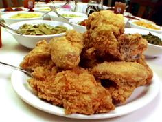 Mrs. Wilkes's Fried Chicken : Food Network - FoodNetwork.com