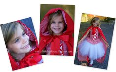 A Little Loveliness: Little Red Riding Hood Costume Tips & Tutorial