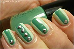 Green and studs
