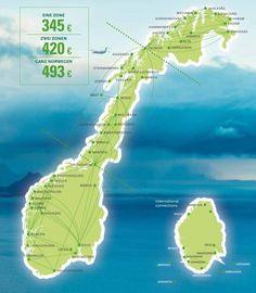 Liebe Urlaubspiraten, für alledie Norwegen einmal von Nord nach Süd und Ost nach West erkunden wollen, haben wir hier genau das richtige Angebote für euch:  Die norwegische RegionalairlineWiderøe bietet zur Zeit wieder ihr beliebter