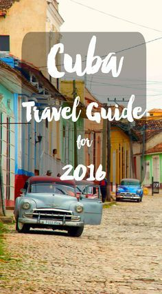 Every want to travel to Cuba? 2016 is the year to do it! Not only is it easier than ever to travel to this beautiful country, but now is the time to go while it still feels like you're stepping back in time! Cuba travel itinerary for 2016