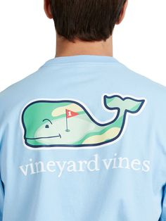 Vineyard Vines Men's Hole in One Whale Graphic Pocket T-Shirt