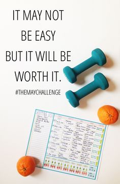 Join #TheMayChallenge: 1 month of motivating each other to eat clean, hydrate and be active!
