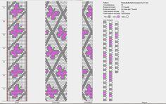 Crochet bracelet diagram seed beads 50 New ideas Bead Crochet Patterns, Seed Bead Patterns, Bead Crochet Rope, Beaded Jewelry Patterns, Bracelet Patterns, Beading Patterns, Crochet Beaded Bracelets, Bead Loom Bracelets, Bead Jewelry