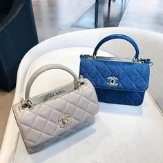 Chanel Womens Tri-color Leather Flap Chain Shoulder Bag – The Fashion Mart Coco Chanel Handbags, Gucci Handbags, Purses And Handbags, Chanel Bags, Chanel Purse, Luxury Handbags, Mode Outfits, Vintage Handbags, Luxury Bags