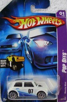 Morris Mini Cooper Pop Offs Series #1 #2007 37 Mattel Hot Wheels 1:64 Scale Collectible Die Cast Car. #Morris #Mini #Cooper #Offs #Series #Mattel #Wheels #Scale #Collectible #Cast