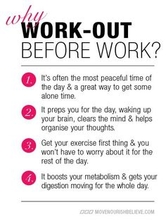 i just said yesterday that i wanted to start working out before work again for these same reasons!!!