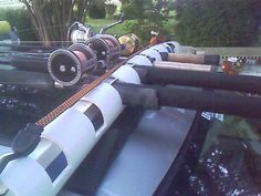 Custom Built Rod Rack For Your Truck Bed The Hull Truth