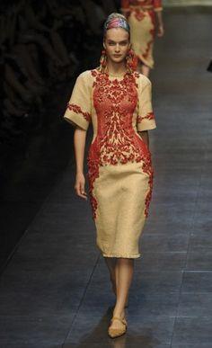 Milan Fashion Week: Dolce & Gabbana spring/summer 2013