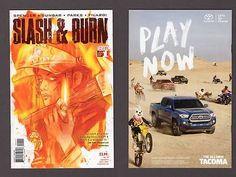 SLASH AND BURN #1 Si Spencer 1st Print +Bag and Board Vertigo DC Comic Book 2016