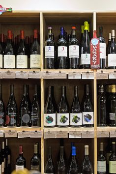 Look at wine descriptions posted under bottles. Are they written by the store's staff? That's a positive sign, indicating personal investment and a distinct point of view. (Photo: Sasha Maslov for The New York Times)