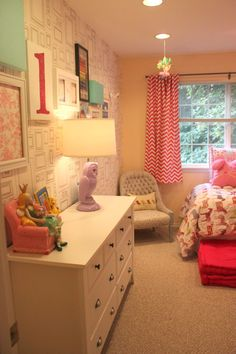 Project Nursery - Hot Pink and Gray Big Girl Room Room View