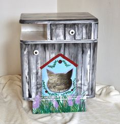 Shabby, Creative, Etsy Shop, Canning, Medium, Old Furniture, Counter Height Stools, Creative Ideas, Craft Gifts