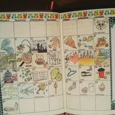 """""""All finished!  #novplannerchallenge15 #doodles #doodleaday"""""""