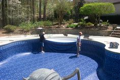 34 Best Inground Swimming Pool Liners Install Replace