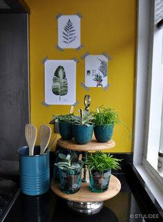 Urban Jungle Bloggers | Kitchen Greens | STIJLIDEE Interieuradvies en Styling via www.stijlidee.nl