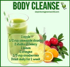 #Body #Cleanse #Drink #Healthy #Juice  http://mywellnessrevolution.com