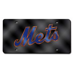 New York Mets MLB Laser Cut License Plate Cover