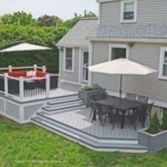 Bedford ma fiberon deck builder. Trek Deck, Deck Builders, Backyard Patio Designs, Deck Patio, Deck Plans, Deck Design Plans, Building A Deck, Building Homes, Decks And Porches