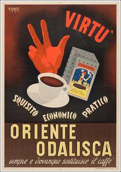 Oriente Odalisca sostituisce il caffè (Vicenza)