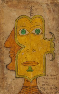 Victor Brauner for Peggy Guggenheim