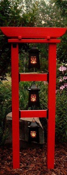 How to Make Your Outdoor Garden Planters Healthy and Beautiful? Japanese Pergola, Japanese Garden Design, Garden Yard Ideas, Garden Projects, Jardin Zen Interior, Bamboo Trellis, Outdoor Projects, Outdoor Decor, Concrete Patios