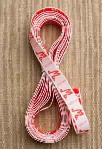 purl soho | products | item | alphabet brocaded ribbon (carta inc.)