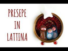 Presepe in Lattina: riciclare linguette e lattine! (Natale/Riciclo creativo) Arte per Te - YouTube