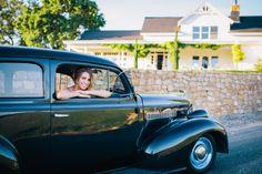 Vintage car at Lekai Ranch #pasoweddings
