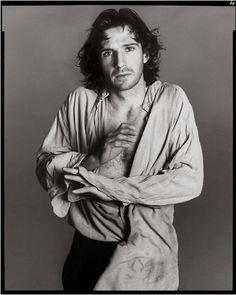 Richard Avedon. Actor Ralph Fiennes Playing Hamlet, London, 1995.