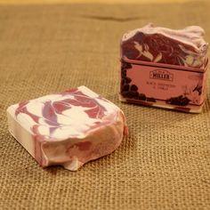 Black Raspberry Vanilla Handmade Vegan Olive Oil Soap - Phthalate Free - Decorative Artisan Cold Processed 4oz Bar