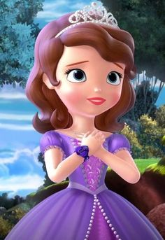 Disney Nerd, Disney Pixar, Disney Characters, Cartoons Love, Disney Cartoons, Disney Junior, Disney Rapunzel, Disney Princess, Princess Sofia The First