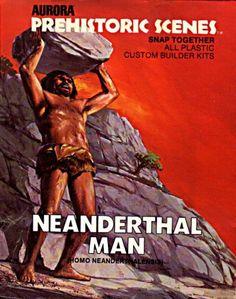 Neanderthal Man  Aurora Prehistoric Scenes