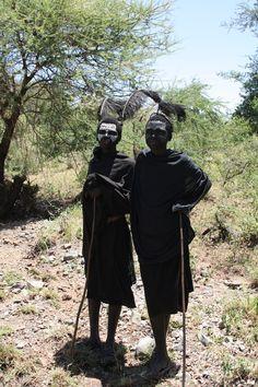 Maasai boys who are now deemed men!