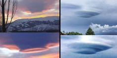 UFOs hidden in clouds seen over Tahiti and Armenia (Video) |UFO Sightings Hotspot