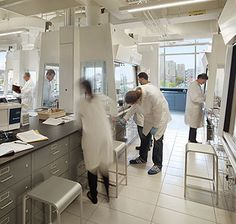 Emeco 20-06 Stools  Drexel University Papadakis Integrated Sciences Building Science Labs
