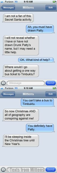 Daily Texts from Mittens: The Timbuktu Edition