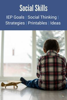 IEP goals for social skills: How to make them measurable, IEP goal suggestions + how to determine if they are appropriate for your child. via @lisalightner