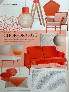 Bo Bedre - orange shopping