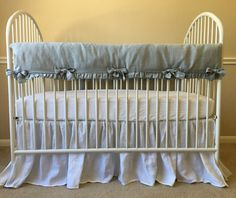Bumperless Crib Bedding | Handcrafted by Superior Custom Linens