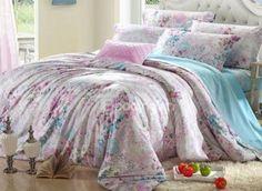 #10943138 Elegant Floral 4 Pieces Tencel Bedding Set (TO ORDER CLICK BLUE TITLE BELOW) by sensationaltreasures