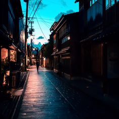 beautiful streets in Kanazawa - Japan