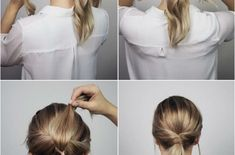 10 Easy And Cute Hair Tutorials For Any Occasion – Hey-Cinderella – double Easy Homecoming Hairstyles, Bride Hairstyles For Long Hair, Short Hair Updo, Best Wedding Hairstyles, Ponytail Hairstyles Tutorial, Braided Hairstyles Tutorials, Hair Tutorials, Cute Hairstyles, Short Thin Hair