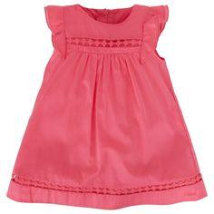 Chloe Pink Lace Detail Dress