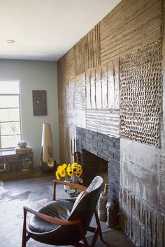 Alicia and David's Natural Elements Abode from apartment therapy